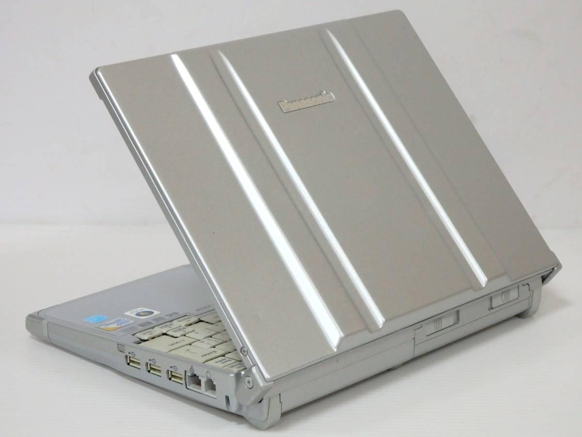 Lets note【超低電圧Core U9400/メモリ 4GB/HDD 160GB 快適♪】型番 CF-W8GWDAJS/■スーパーマルチ/12.1型W/無線 Wi-Fi■最新 Win 10_画像3