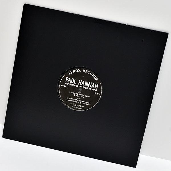 [限界最安値/ウォッチ2/即決2,500円/Russ Gabriel Too Funk 別名義/Colin Dale] Paul Hannah Adventures In Techno Soul Ferox Records_画像3