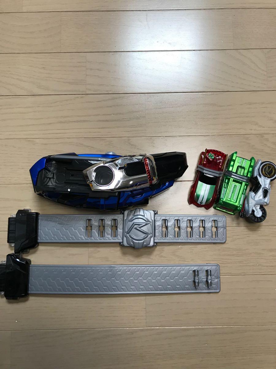 仮面ライダードライブ DXマッハドライバー炎 シフトカー3台 クリスマス限定シフトカー付き 変身ベルト
