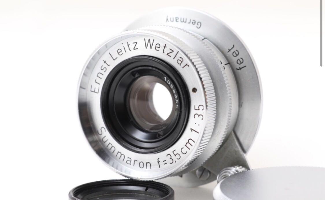 ライカ Leica ズマロン Summaron 35mm F3.5 Ernst Leitz Wetzler Germany