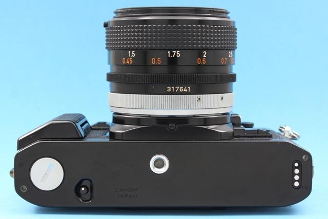 良品 Canon A-1 と FD 50mm 1:1.4 SSC 作動確認済み シャッター鳴きなし キャノン_画像7