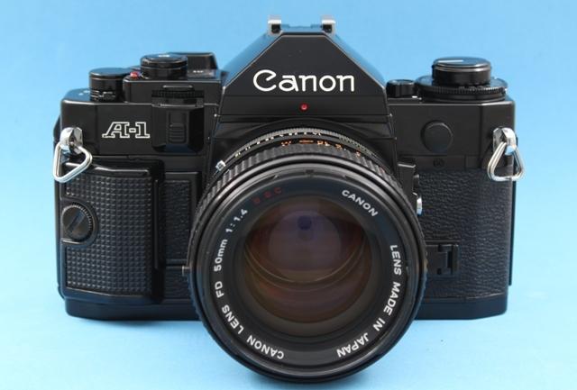 良品 Canon A-1 と FD 50mm 1:1.4 SSC 作動確認済み シャッター鳴きなし キャノン_画像2