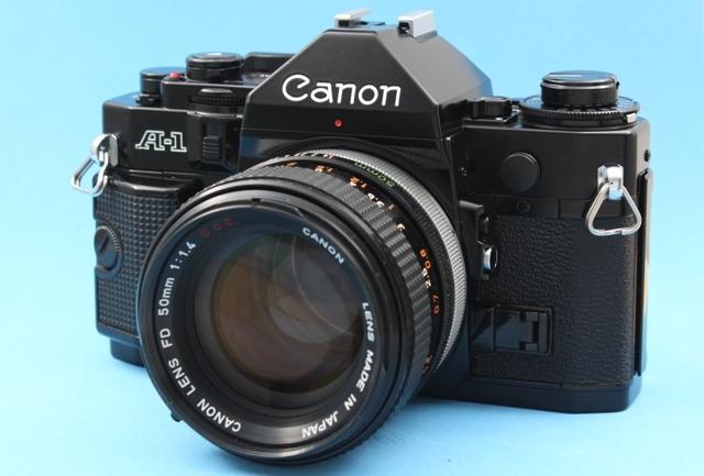 良品 Canon A-1 と FD 50mm 1:1.4 SSC 作動確認済み シャッター鳴きなし キャノン_画像5