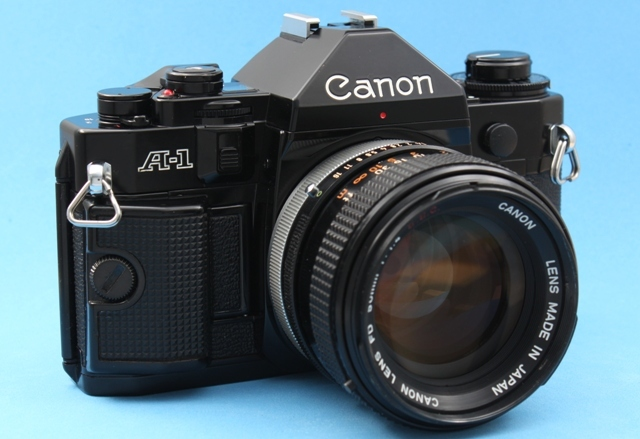 良品 Canon A-1 と FD 50mm 1:1.4 SSC 作動確認済み シャッター鳴きなし キャノン_画像4