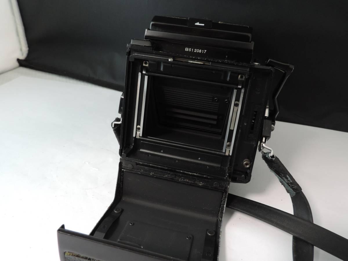 ZENZA BRONICA ゼンザブロニカ/中判カメラ/フィルムカメラ/ブラック/ETR/M52 27370/ZENZANON MC/f=75㎜/f:2.8/T186_画像7