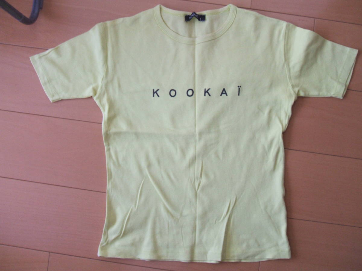 ★KOOKAIクーカイ☆半袖Tシャツ&タンクトップ2枚セット☆size1★ _画像2
