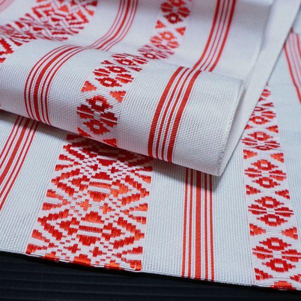 【着物のNext】0635 夏帯 紗献上 ポリエステル 化繊 正絹八寸名古屋帯 美品_画像2