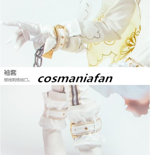 【即納】 コスプレ衣装 FGO Fate/Grand Order ネロ・クラウディウス 花嫁 豪華版 風 セット_画像7