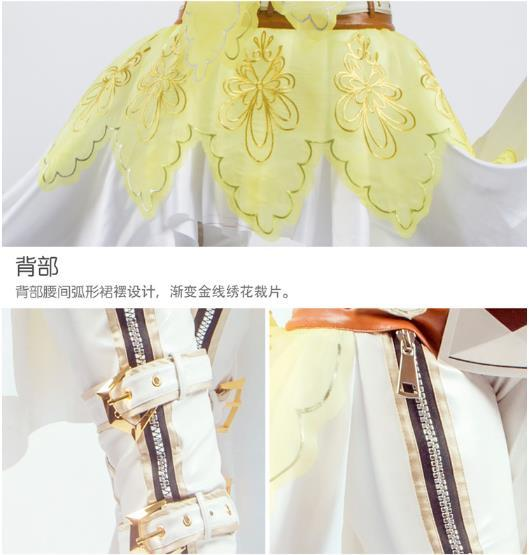 【即納】 コスプレ衣装 FGO Fate/Grand Order ネロ・クラウディウス 花嫁 豪華版 風 セット_画像6