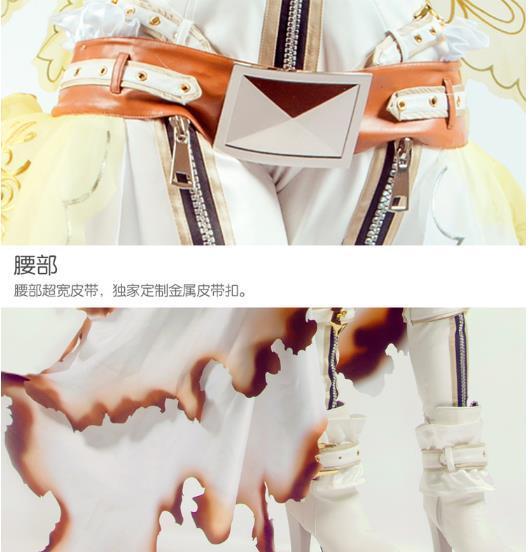 【即納】 コスプレ衣装 FGO Fate/Grand Order ネロ・クラウディウス 花嫁 豪華版 風 セット_画像5