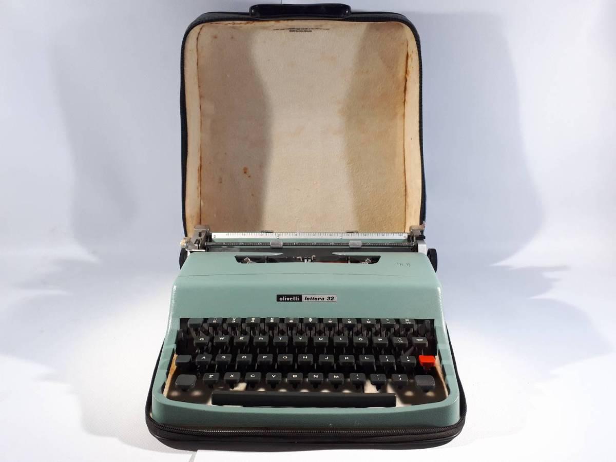 [22]olivetti lettera 32 タイプライター スペイン製