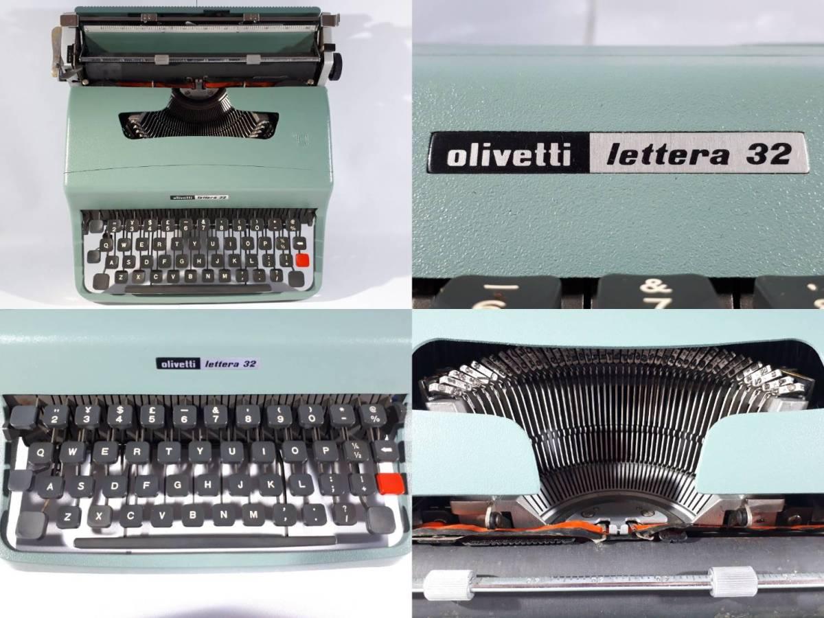 [22]olivetti lettera 32 タイプライター スペイン製_画像2