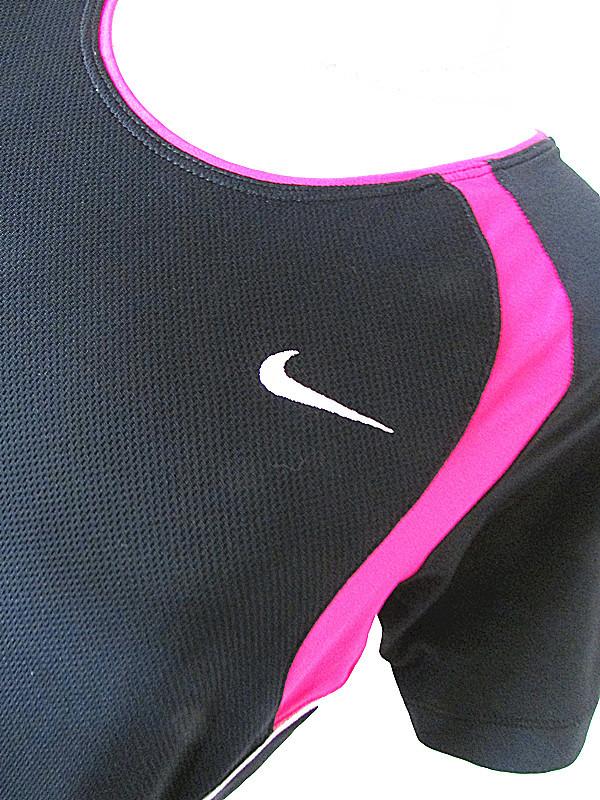 ナイキ NIKE DRI-FIT刺繍ロゴ機能半袖ウェアランニング★ジョギング練習着 トレーニング サッカー テニス ゴルフ★ヨガジム フィットネス
