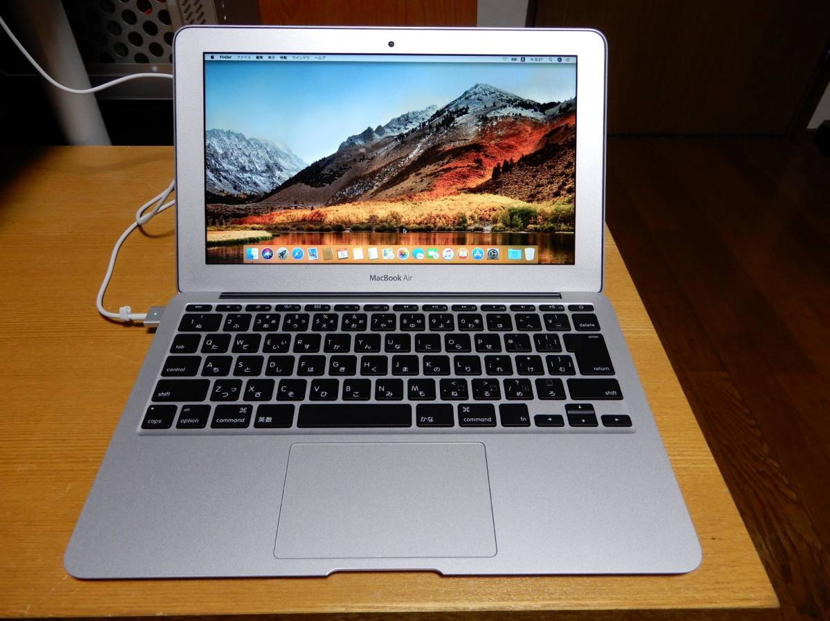MacBook Air 11インチ A1465 BTO i7 メモリ8GB SSD256GB