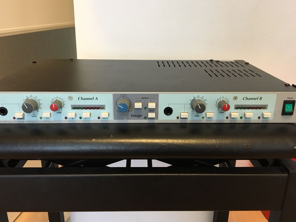 稀少!AMEK 9098 DMA 国内正規品 メンテ品NEVE SSL API CHANDLER GREAT RIVER SHEP VINTECH AURORA AUDIO_画像1