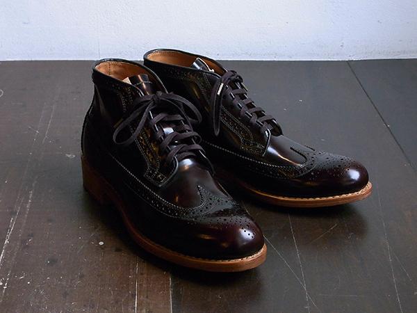 visvim patrician mid wt-folk 靴 ウィングチップ 27.5
