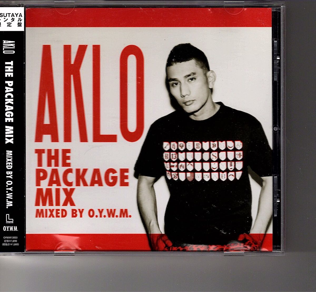 TSUTAYAレンタル限定盤!AKLO [THE PACKAGE MIX mix by O.Y.W.M.]_画像1