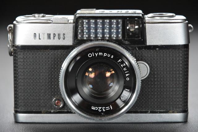 古いカメラ OLYMPUS PEN-D 検索用語→A10内オリンパスペンアンティークビンテージヴィンテージ