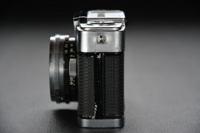 古いカメラ OLYMPUS PEN-D 検索用語→A10内オリンパスペンアンティークビンテージヴィンテージ_画像3