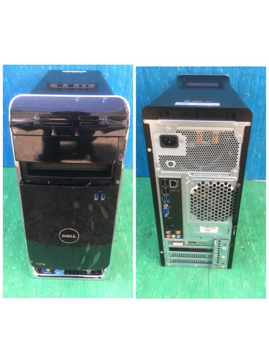 現状品 DELL デル デスクトップPC XPS 8500 Core i7-3770 3.40ghz/16gb