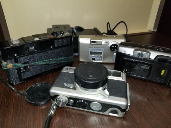 4-7 Canon キャノン A-1 / モータードライブMA / その他レンズ付属品ジャンクおまとめ_画像8