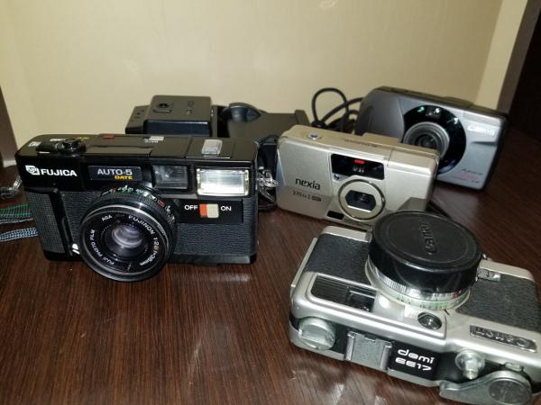 4-7 Canon キャノン A-1 / モータードライブMA / その他レンズ付属品ジャンクおまとめ_画像7
