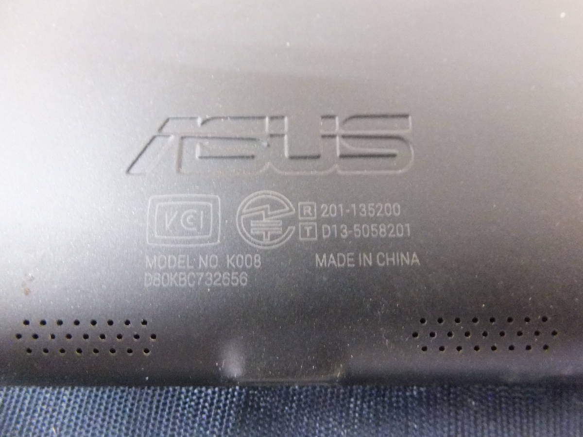 sl657 ASUS Nexus 7 K008 wifiモデル 32GB 動作OK 中古品_画像6