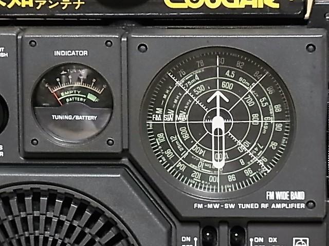 ★【 RF-877 】クーガNo.7 ワイドFM 対応 National Panasonic♪ 興味ある方にどうぞ ラジオ中古品18032924_画像2