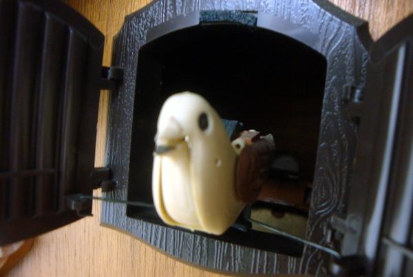 【超希少・廃盤】CITIZEN シチズン スヌーピー 木製 壁掛け 鳩時計【4MJ7620-0】_画像6