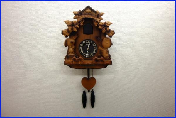 【超希少・廃盤】CITIZEN シチズン スヌーピー 木製 壁掛け 鳩時計【4MJ7620-0】_画像1