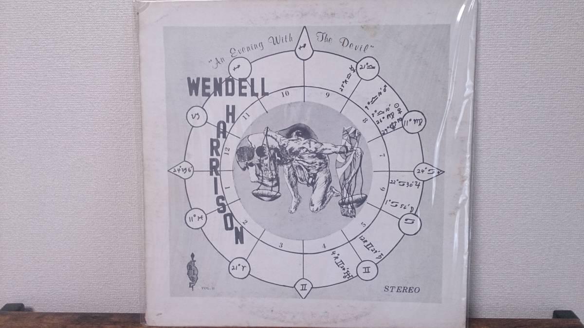 USオリジナル!PRSD-2212 Wendell Harrison /An Evening With The Devil strata east black jazz系スピジャズ tribe 名盤
