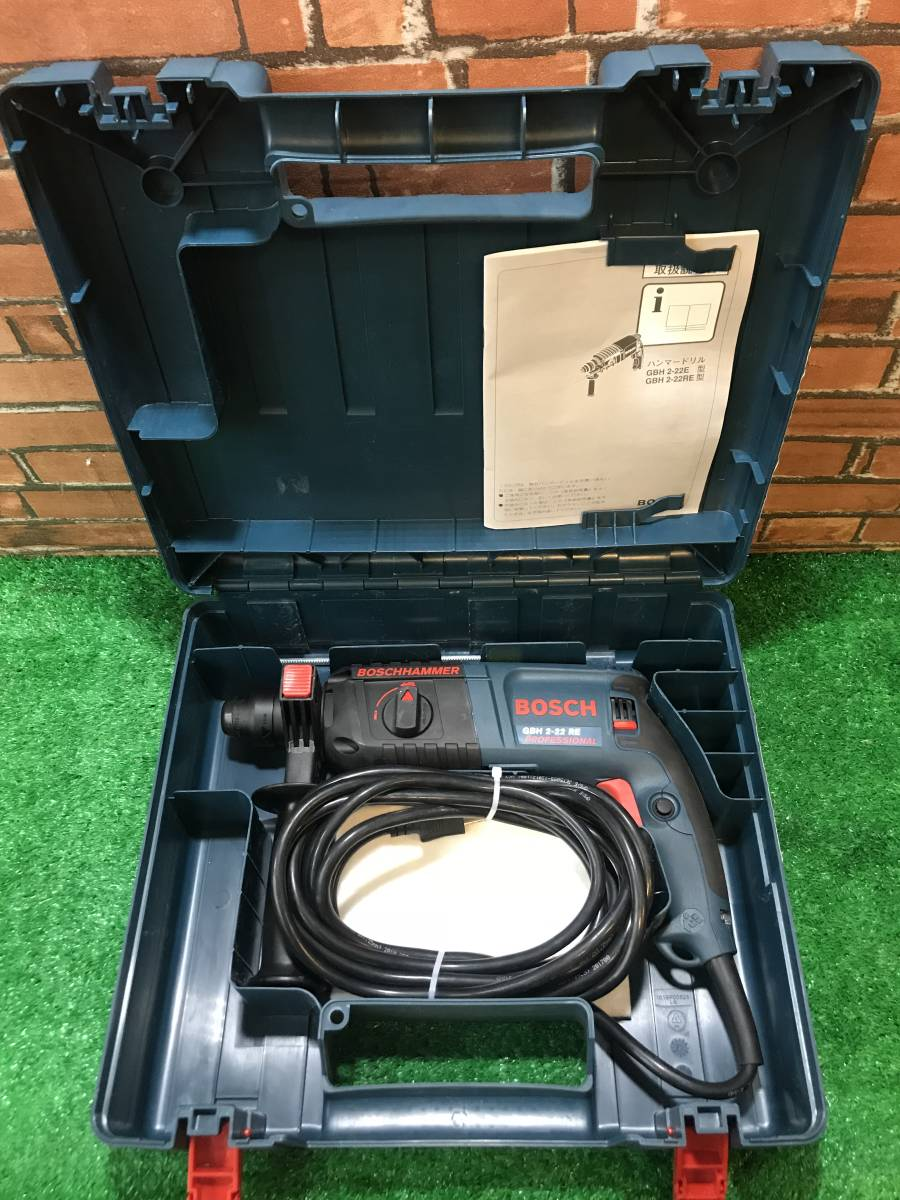 T72 used beautiful goods!! BOSCH hammer drill GBH2-22RE