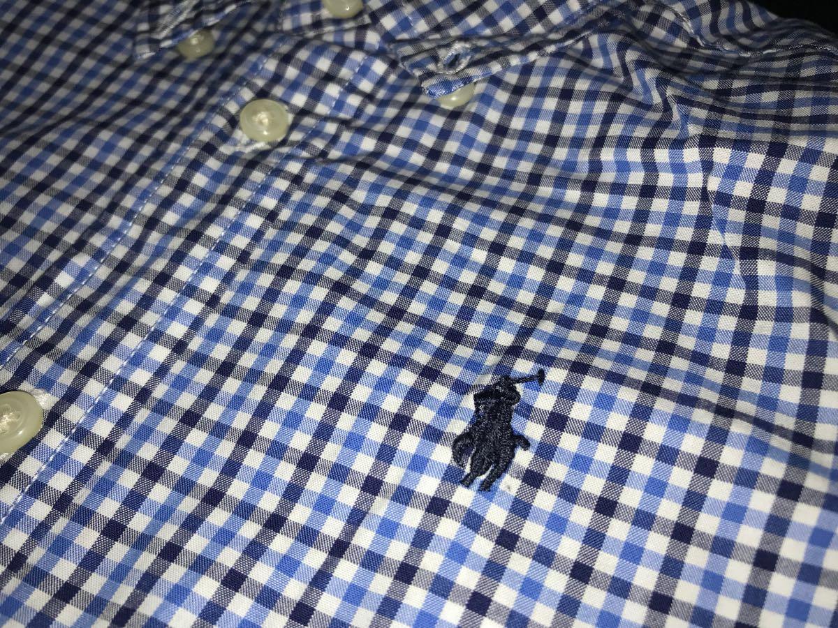 新品タグ付 ★ラルフローレンの長袖チェックシャツ★日本国内デパート購入品★24M_画像2