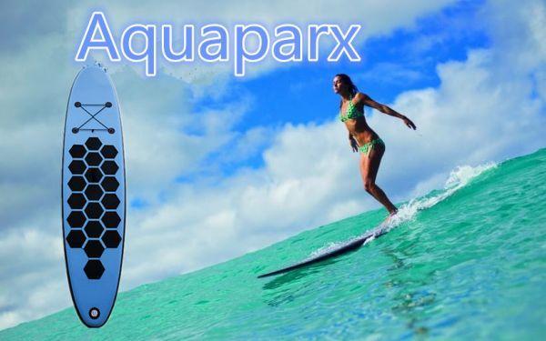 オランダから直送 Aquaparx AP305 SUP サーフィン ロングボード ブルー BT17_画像2