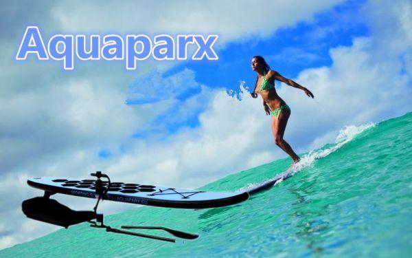 オランダから直送 Aquaparx AP305 SUP サーフィン ロングボード ブルー BT17_画像3