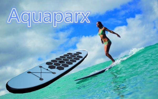 オランダから直送 Aquaparx AP305 SUP サーフィン ロングボード ブルー BT17