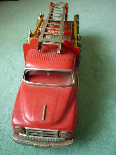 ☆超希少☆ヨネザワボンネット 消防車超  ブリキ玩具 当時物 美品_画像3