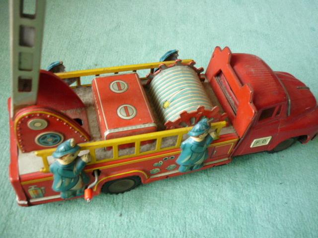 ☆超希少☆ヨネザワボンネット 消防車超  ブリキ玩具 当時物 美品_画像5