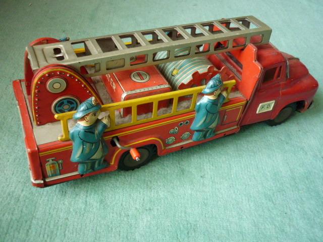 ☆超希少☆ヨネザワボンネット 消防車超  ブリキ玩具 当時物 美品_画像8