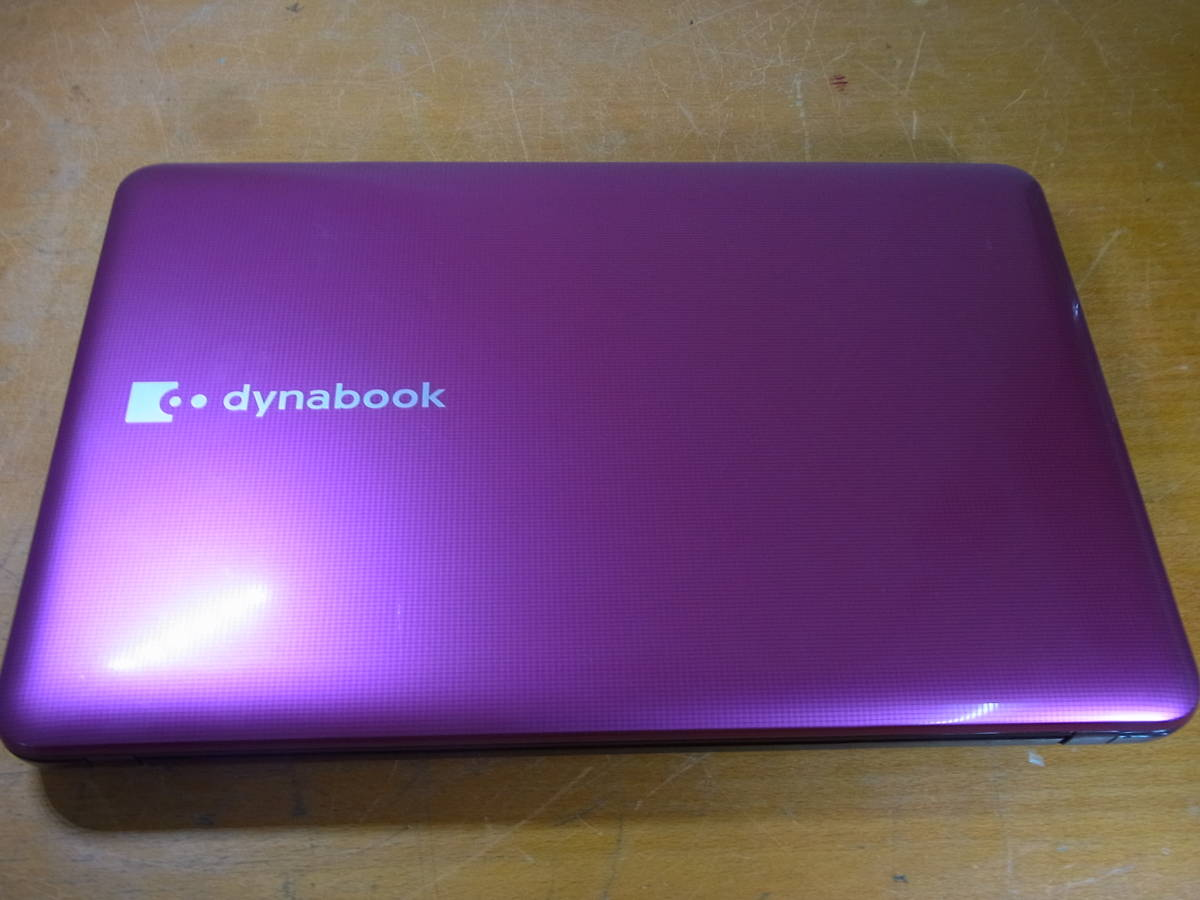 ⑥▲東芝 dynabook T552/58GRJ Core i7-3630QM 2.40GHz/8GB/BDドライブ/ノートパソコン 訳有_画像6