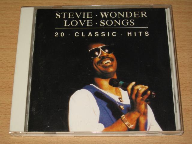 CD「スティーヴィー・ワンダー・ラヴ・ソングス」20 CLASSIC HITS