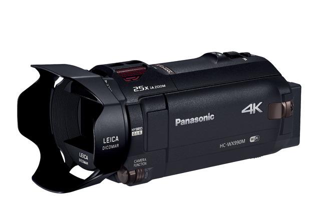 【即決有】新品同様 展示品 デジタル4Kビデオカメラ パナソニック HC-WX990M