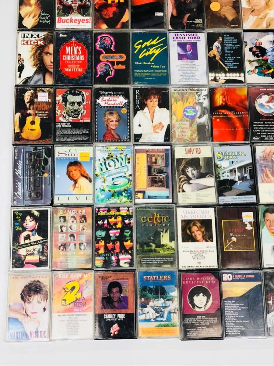 ジャンルミックス カセット 豪華100枚セット ロック バラード その他 ③_画像4
