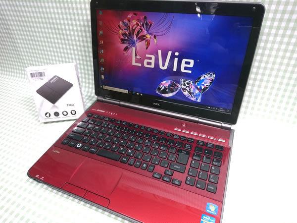 超高速 Core i7 【新品】320G SSD【超快速仕様☆Windows10】NEC GL207T/4R PC-GL207T4AR メモリ8G BD-RE Office 高音質YAMAHA音源 1円~