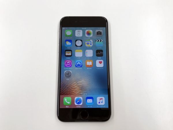 au iPhone6 MG472/J/A 16GB スペースグレイ 白ロム 本体 スマホ ○判定