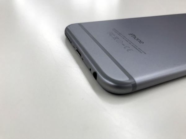 au iPhone6 MG472/J/A 16GB スペースグレイ 白ロム 本体 スマホ ○判定_画像4
