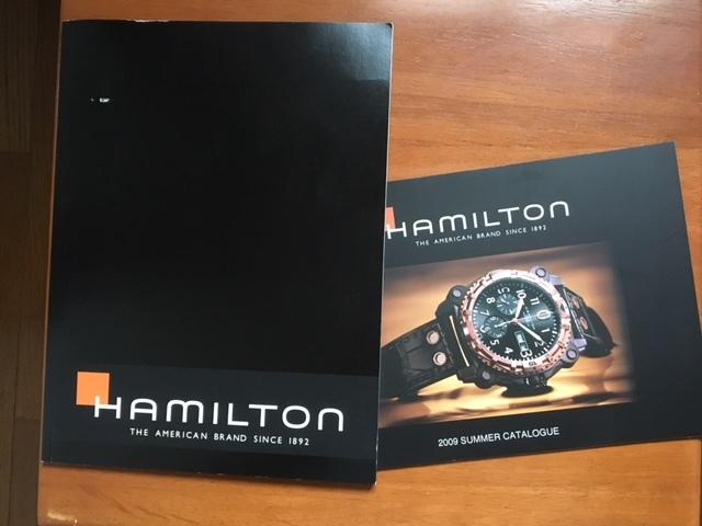 ハミルトンの商品カタログ 2008年版 本カタログと簡易カタログ
