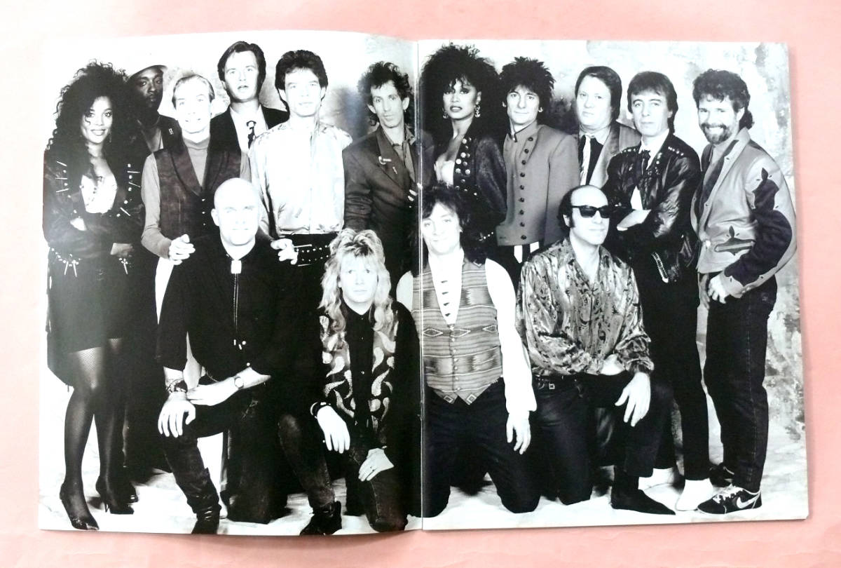 パンフ「ローリング・ストーンズ/ROLLING STONES STEEL WHEELS TOKYO1990」_画像2