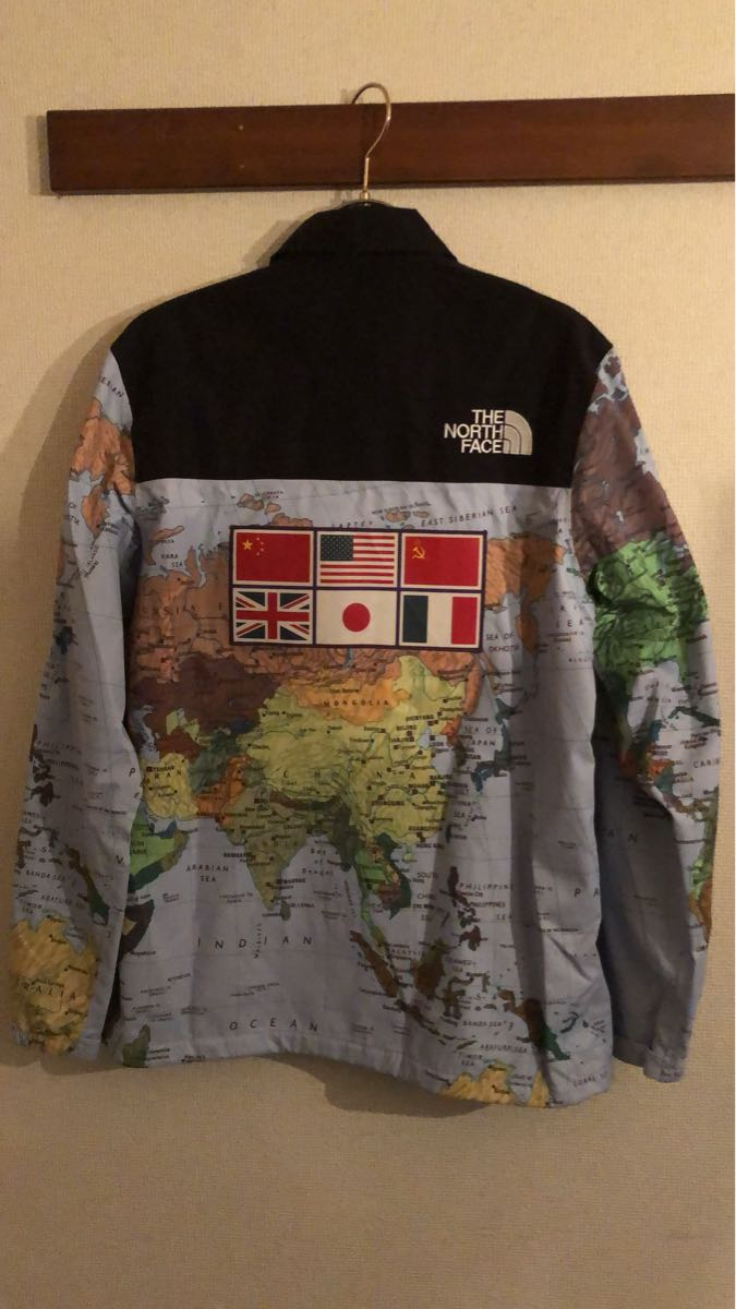 Supreme the north face expedition coaches jacket world map supreme the north face expedition coaches jacket world map gumiabroncs Gallery