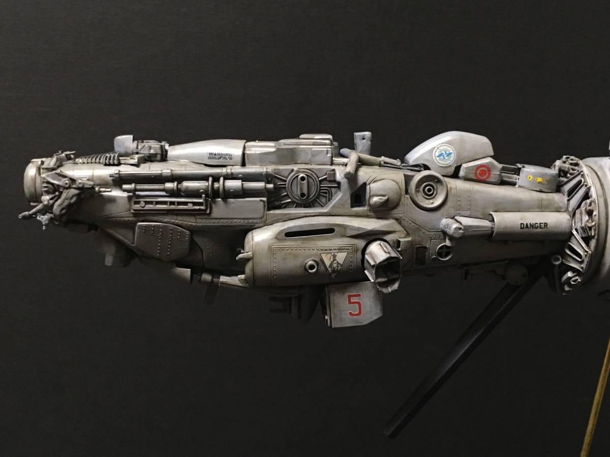 完成品 オリジナル 個人製作 1/144 プラモデル SF 宇宙戦艦 マシーネンクリーガー Ma.K SF3D 銀河英雄伝説 スターウォーズ 艦船_画像7